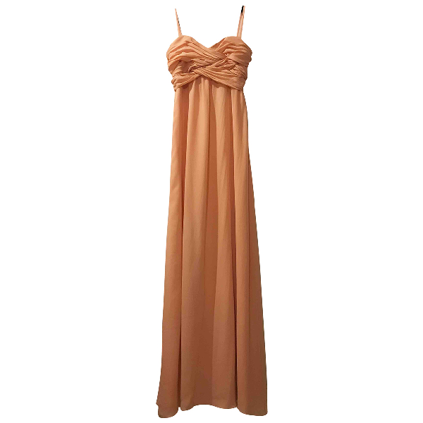 Ted Baker Orange Silk Dress