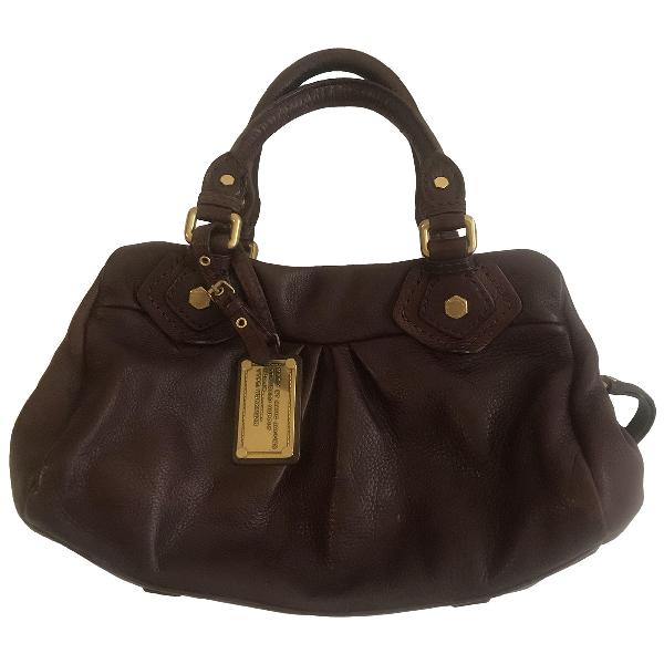 Marc By Marc Jacobs Classic Q Burgundy Leather Handbag