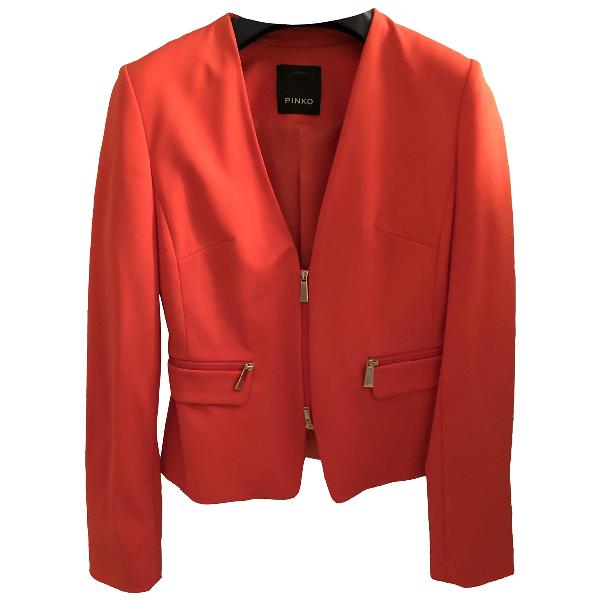 Pinko Orange Jacket