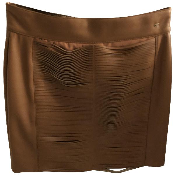 Elisabetta Franchi Camel Skirt