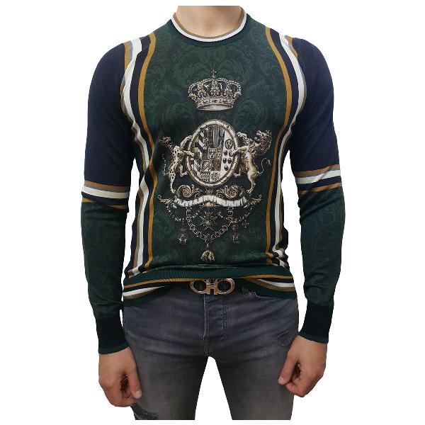 Dolce & Gabbana Multicolour Cashmere Knitwear & Sweatshirts