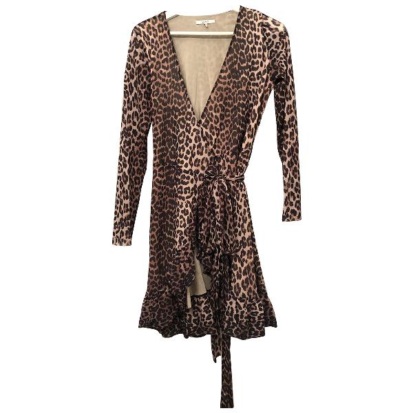 Ganni Brown Dress