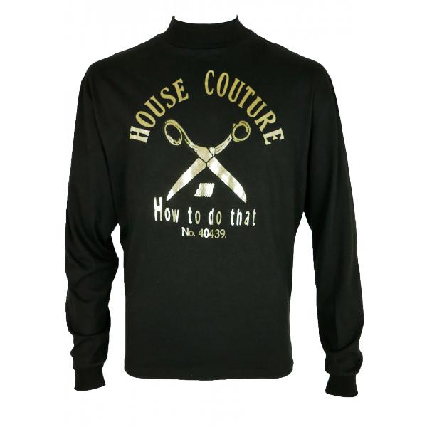 Jean Paul Gaultier Black Cotton T-shirts