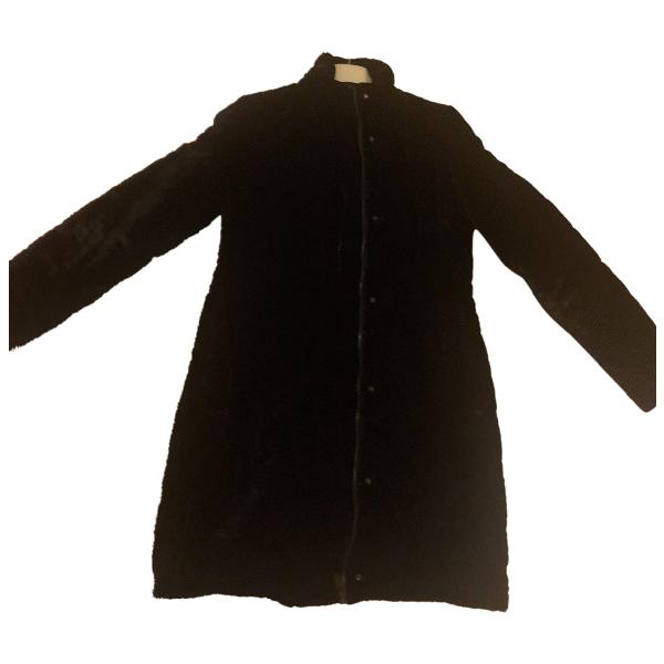 Aspesi Black Velvet Coat