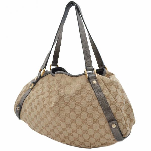 Gucci Beige Cloth Handbag