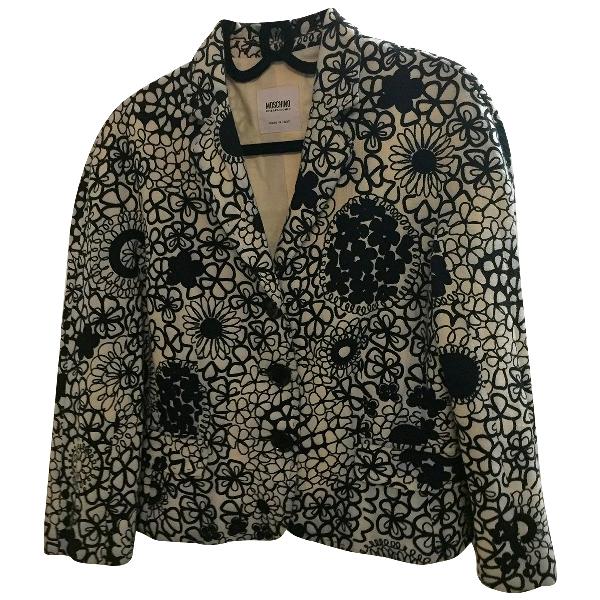 Moschino Cheap And Chic Ecru Cotton Jacket