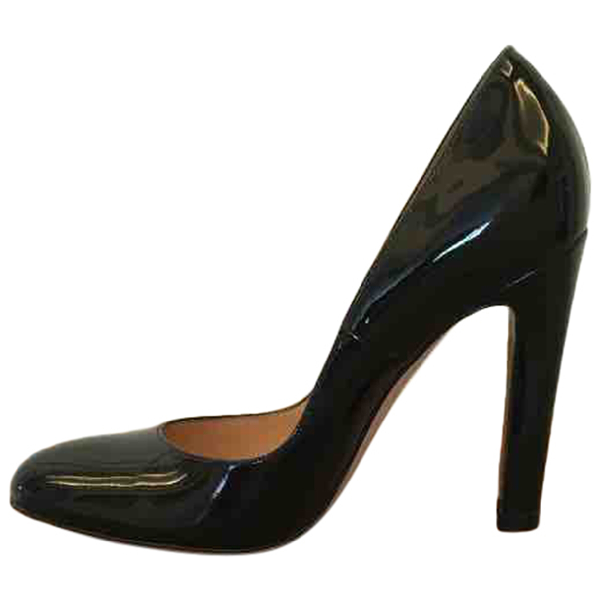 Gianvito Rossi Black Patent Leather Heels