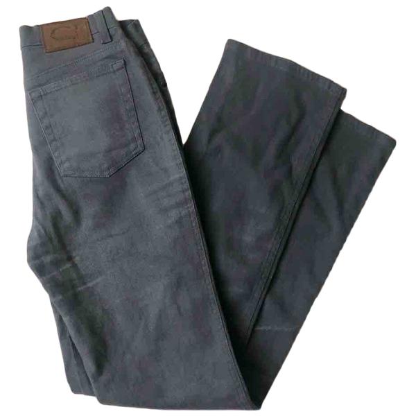 Roberto Cavalli Grey Cotton Jeans