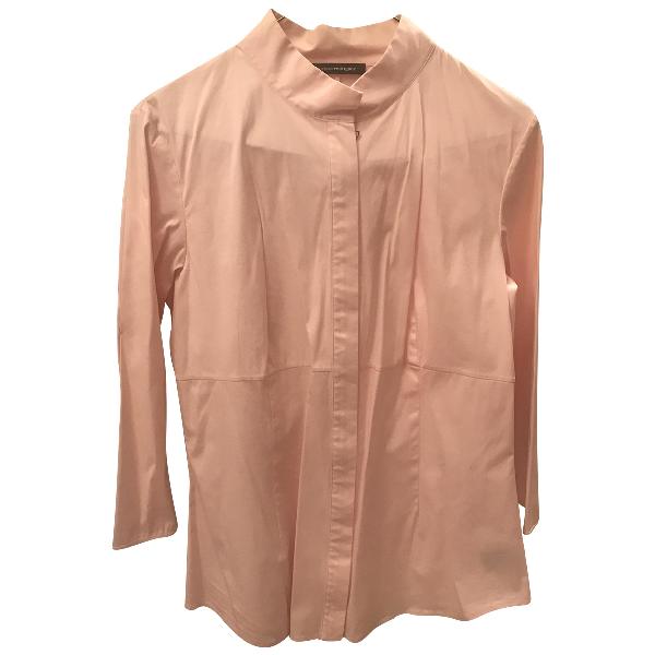Narciso Rodriguez Pink Cotton  Top