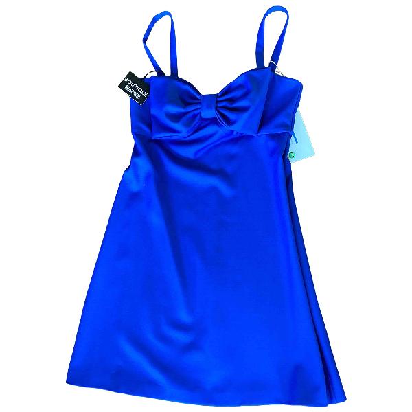 Moschino Blue Wool Dress