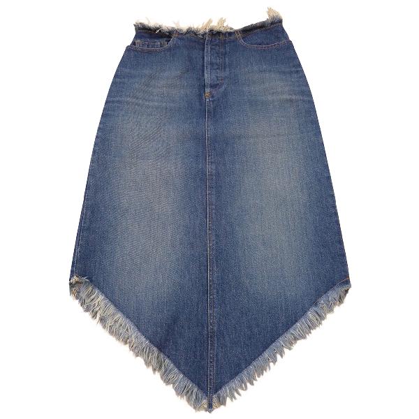Comptoir Des Cotonniers Blue Denim - Jeans Skirt