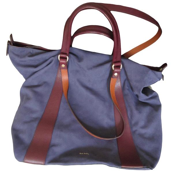 Paul Smith Purple Suede Handbag