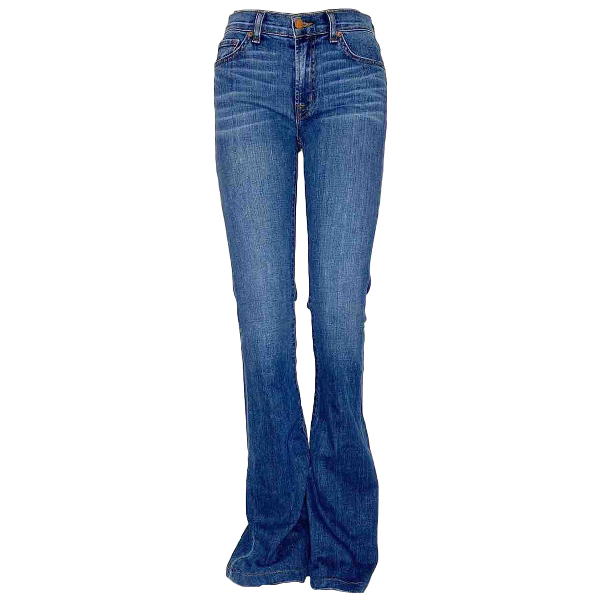 J Brand Navy Cotton Jeans