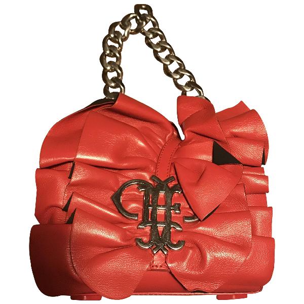 Emilio Pucci Red Leather Handbag
