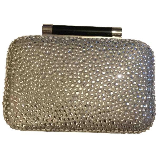 Diane Von Furstenberg Black Leather Clutch Bag