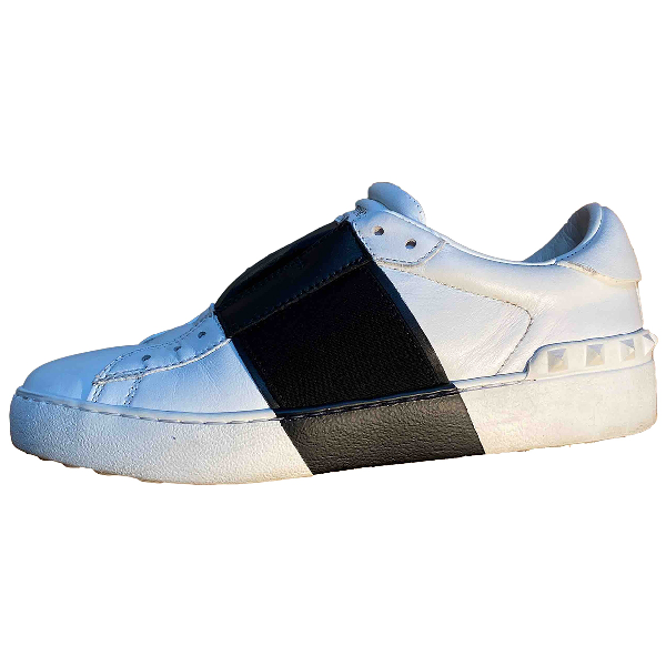Valentino Garavani White Leather Trainers