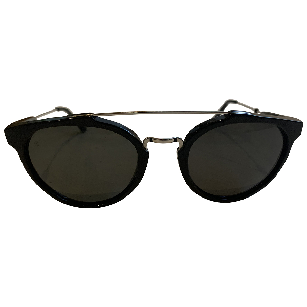 Retrosuperfuture Black Metal Sunglasses
