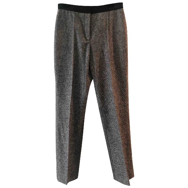 Lanvin Grey Wool Trousers
