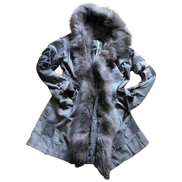 Project Foce Khaki Cotton Coat