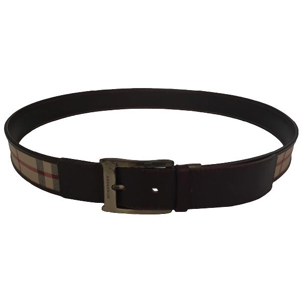 Burberry Beige Cloth Belt
