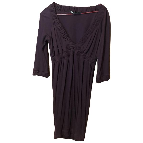 Dsquared2 Burgundy Cotton - Elasthane Dress