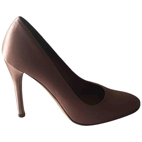 Prada Pink Cloth Heels
