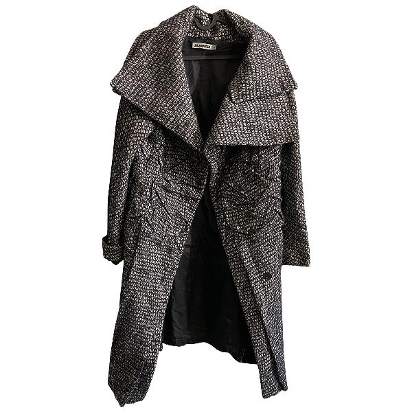 Jil Sander Black Wool Coat