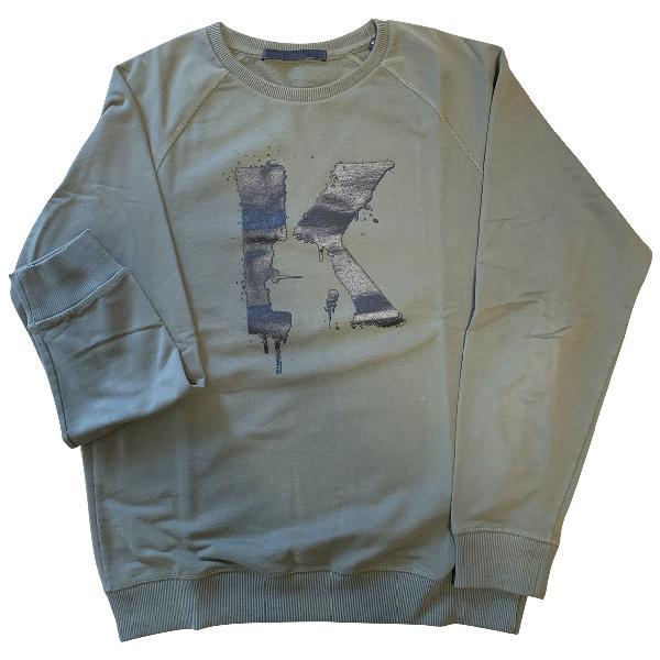 Karl Lagerfeld Khaki Cotton Knitwear & Sweatshirts