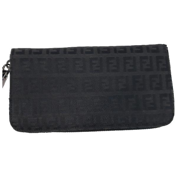 Fendi Black Cloth Purses, Wallet & Cases