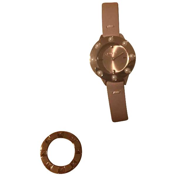 Furla Pink Steel Watch
