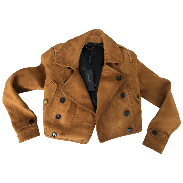 Burberry Brown Suede Jacket