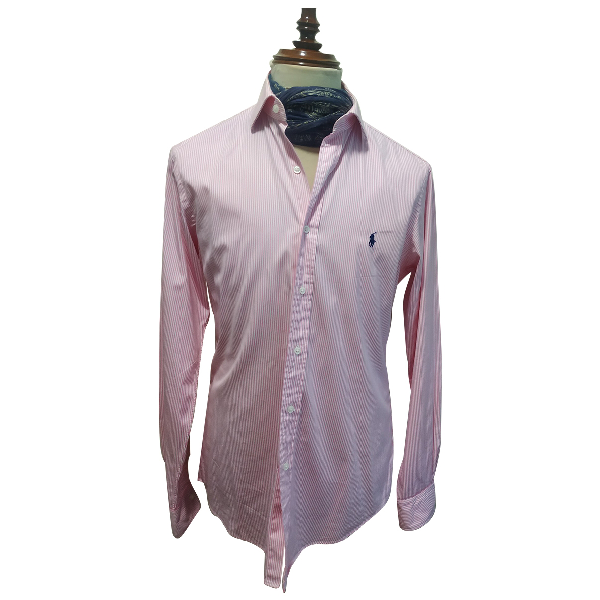 Polo Ralph Lauren Pink Cotton Shirts