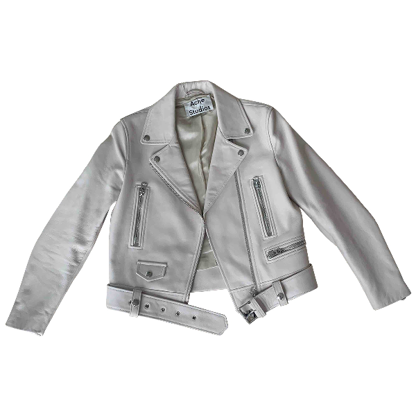 Acne Studios Leather Leather Jacket