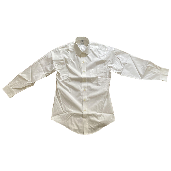 Brooks Brothers White Cotton Shirts