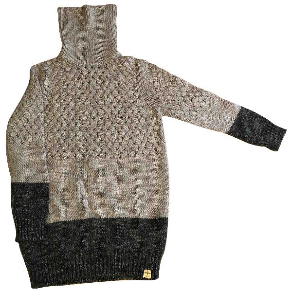 Napapijri Grey Wool Knitwear