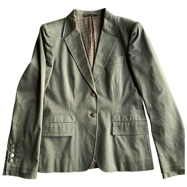 Gucci Green Cotton Jacket