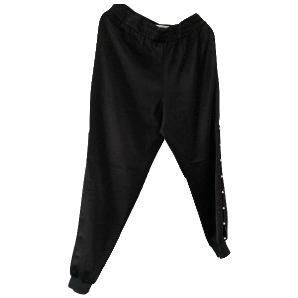 Alice And Olivia Black Trousers