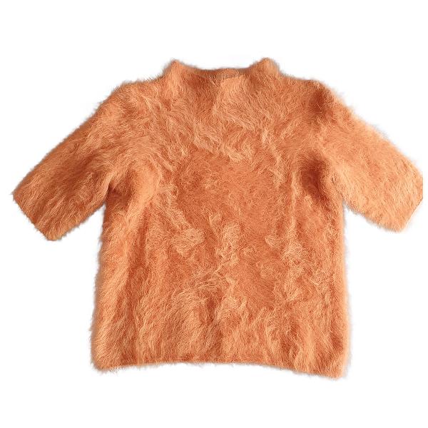 Louis Vuitton Orange Wool Knitwear