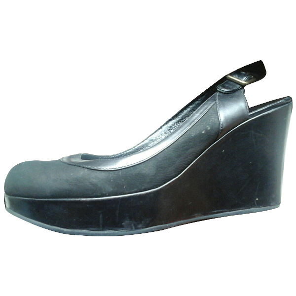 Marc By Marc Jacobs Black Leather Heels
