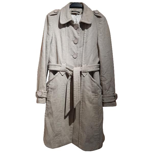 Tara Jarmon Beige Wool Coat