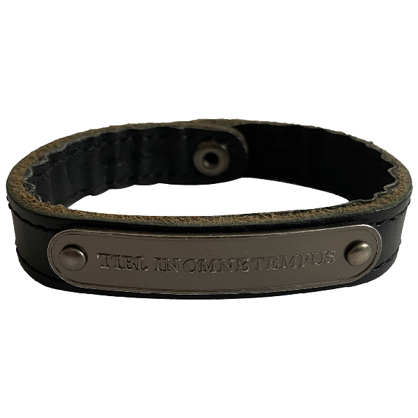 Marc By Marc Jacobs Black Leather Bracelet