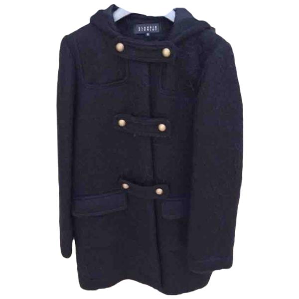 Claudie Pierlot Black Wool Coat