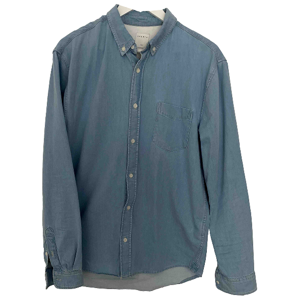 Sandro Blue Denim - Jeans Shirts