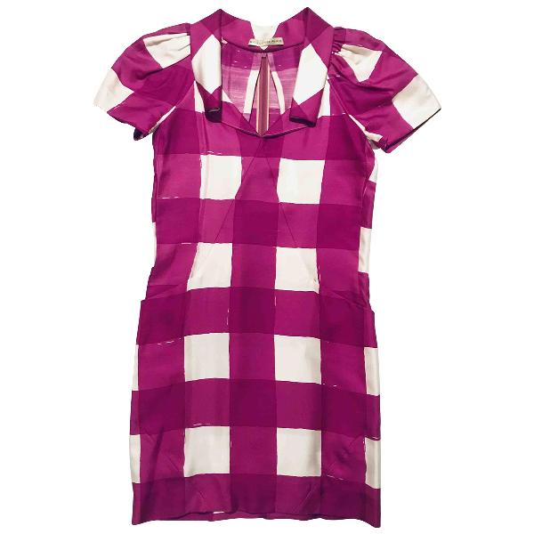 Balenciaga Multicolour Silk Dress