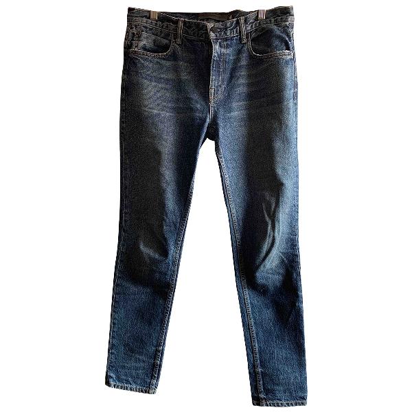 Alexander Wang Blue Denim - Jeans Trousers