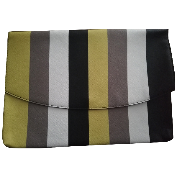 French Connection Leather Clutch Bag