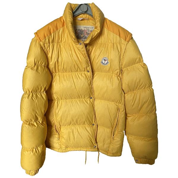 Moncler Yellow Coat