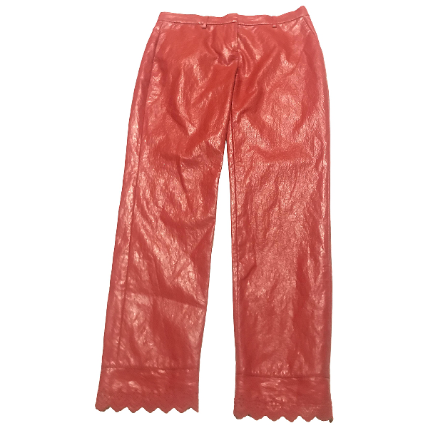 Philosophy Di Lorenzo Serafini Red Trousers