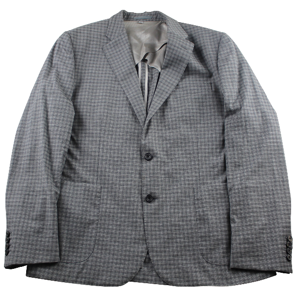 Hardy Amies Grey Wool Jacket