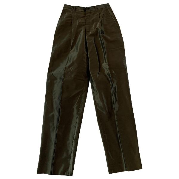 Issey Miyake Green Trousers